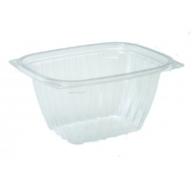 """Plastic Deli Container OPS """"ClearPac"""" Clear 473ml (63 Units)"""