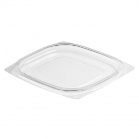 Plastic Lid OPS for Deli Container Flat Clear 118/177ml (63 Units)