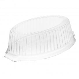 Plastic Lid PS High Clear For Foam Pot 18x13x5 cm (1000 Units)