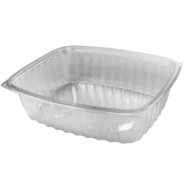 """Plastic Deli Container OPS """"ClearPac"""" Clear 1420ml (63 Units)"""