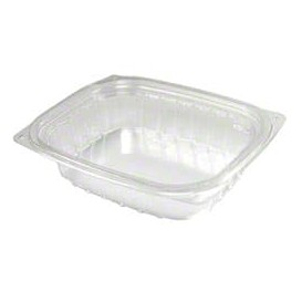 """Plastic Deli Container OPS """"ClearPac"""" Clear 237ml (63 Units)"""