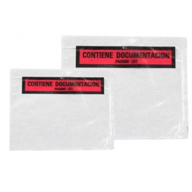 Packing List Envelopes Self Adhesive Printed 3,30x2,35cm (250 Units)