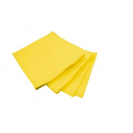 Paper Napkin Micropoint Yellow 20x20cm 2C (100 Units)
