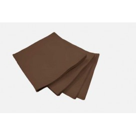 Paper Napkin Micropoint Brown 20x20cm 2C (2.400 Units)