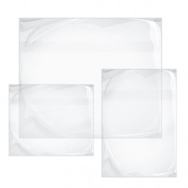 Packing List Envelopes Self Adhesive Clear 3,30x2,35cm (250 Units)