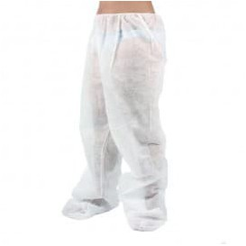 Disposable Trousers Pressotherapy Treatment TST PP Plastic coated (100 Units)