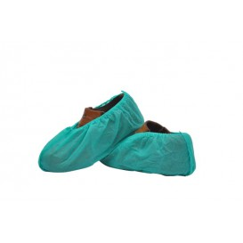 Disposable Plastic Shoe Covers PP Green (100 Units)