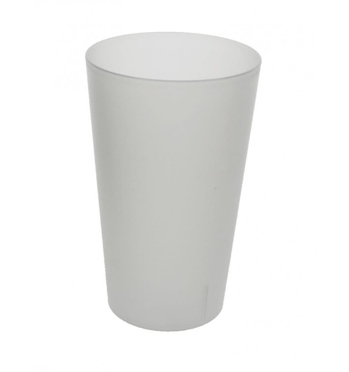 Plastic Cup PP Reusable Translucent 330ml (560 Units)