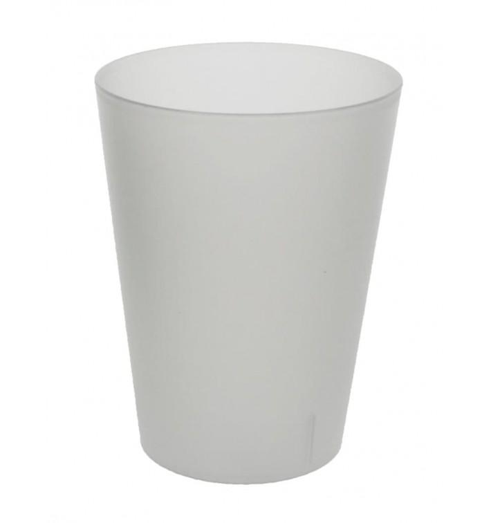 Plastic Pint Glass PP Reusable Translucent 500ml (16 Units)