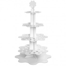 """Display Stand Appetizers and Cones """"Flower"""" 75cm (5 Units)"""