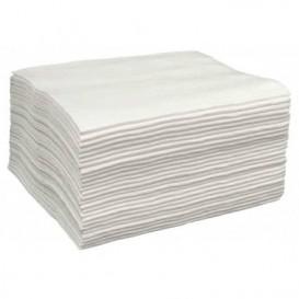 Disposable Spunlace Towel for Manicure Pedicure White 30x40cm 50g/m² (2000 Units)