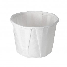 Pleated Paper Souffle Cup 15ml (5000 Units)