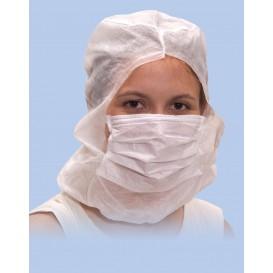 Disposable Surgeon Hood PP White (50 Units)