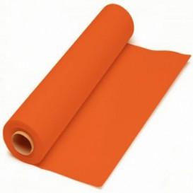 Paper Tablecloth Roll Orange 1x100m. 40g (6 Units)
