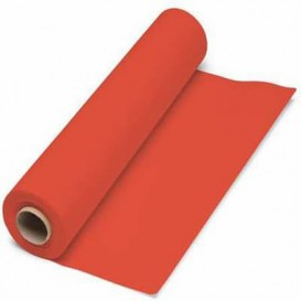 Paper Tablecloth Roll Red 1x100m. 40g (6 Units)