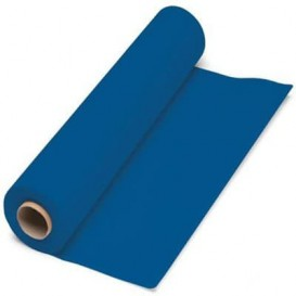 Paper Tablecloth Roll Blue 1x100m. 40g (6 Units)