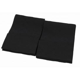 "Paper Napkins ""Miniservis"" Black 17x17cm (4800 Units)"