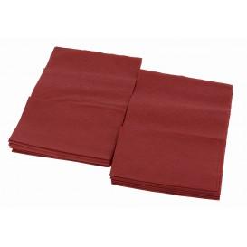 """Paper Napkins """"Miniservis"""" Burgundy 17x17cm (160 Units)"""