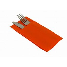 """Pocket Fold Airlaid Napkins """"Kanguro"""" Orange 40x40cm (30 Units)"""