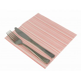 """Paper Napkin Double Point """"Basic Red"""" 40x40cm (600 Units)"""