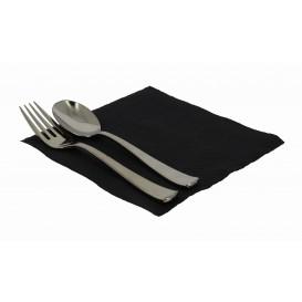 Paper Napkin Black 33x33cm 1 Layer (3360 Units)