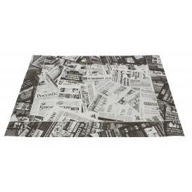 "Paper Placemats 30x40cm ""Prensa"" Black 50g (500 Units)"