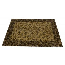 """Paper Placemats 30x40cm Kraft """"Cachemir"""" 50g (500 Units)"""