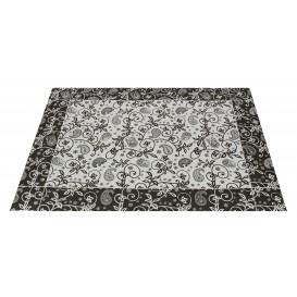 """Paper Placemats 30x40cm """"Cachemir"""" Black 50g (2500 Units)"""