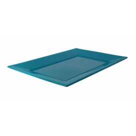 Plastic Tray Turquoise 33x22,5cm (180 Units)