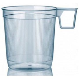 Plastic Cup Rigid Clear 250 ml (40 Units)