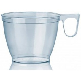 Plastic Cup Clear 180ml (50 Units)
