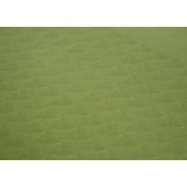 Pre-Cut Paper Tablecloth Pistachio 40g 1x1m (400 Units)