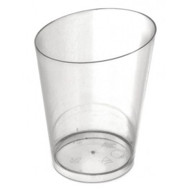 Plastic Tasting Cup PS Cone Shape Clear 100 ml (10 Units)