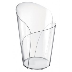 """Plastic Tasting Cup PS """"Blossom"""" Clear 90ml (15 Units)"""
