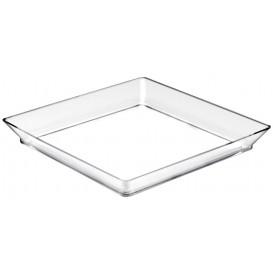 Tasting Tray PS Medium size Clear 13x13 cm (12 Units)