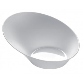 "Tasting Plastic Bowl PS ""Sodo"" White 50 ml (50 Units)"