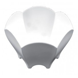 "Tasting Plastic Bowl PS ""Tulip"" White 70 ml (25 Units)"