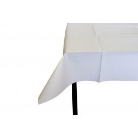 Pre-Cut Paper Tablecloth White 40g 1x1m (480 Units)