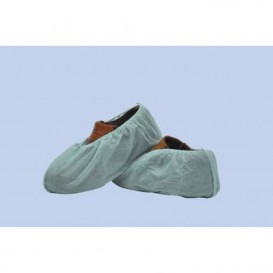 Disposable Plastic Shoe Covers PP White (100 Units)