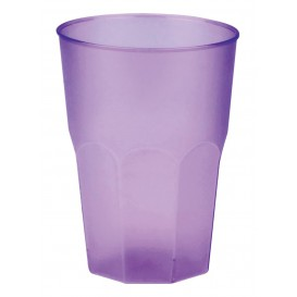 """Plastic Cup PP """"Frost"""" Lilac 350ml (20 Units)"""