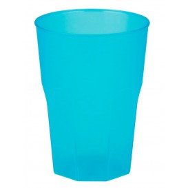 """Plastic Cup PP """"Frost"""" Turquoise 350ml (420 Units)"""