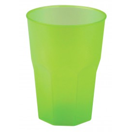 "Plastic Cup PP ""Frost"" Lime Green 350ml (20 Units)"