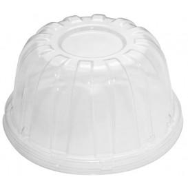 Plastic Dome Lid PS Clear Ø11,7cm (50 Units)