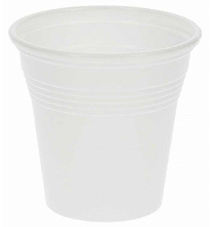 Plastic Shot PS White 80 ml (50 Units)