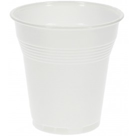 Plastic Cup PS Vending White 160 ml (100 Units)