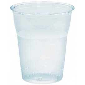 "Plastic Cup PS Crystal ""Diamant"" 200ml Ø7,2cm (50 Units)"