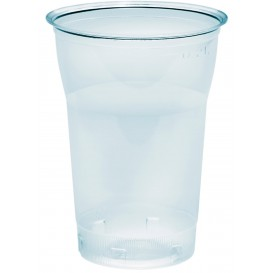 "Plastic Cup PS Crystal ""Diamant"" 250ml Ø7,2cm (50 Units)"