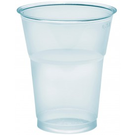 "Plastic Cup PS Crystal ""Diamant"" 300ml Ø8cm (50 Units)"