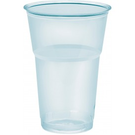 "Plastic Cup PS Crystal ""Diamant"" 350ml Ø8,0cm (50 Units)"