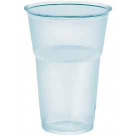 "Plastic Cup PS Crystal ""Diamant"" 390ml Ø8,0cm (50 Units)"